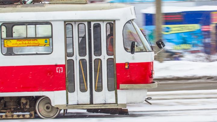 В Самаре сократили три трамвайных маршрута