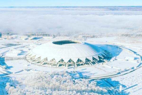 На территории стадиона будет работать«Терем Снегурочки» с почтой Деда Мороза