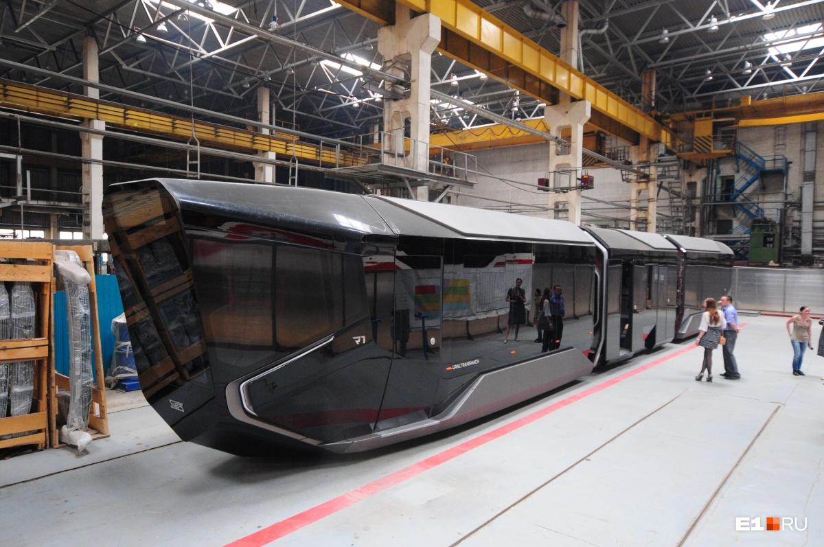 Так выглядит трамвай будущего R1