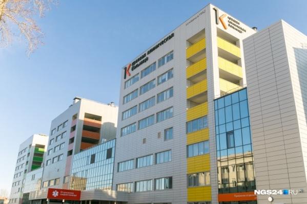 Новый корпус краевой больницы начал работать 2 декабря