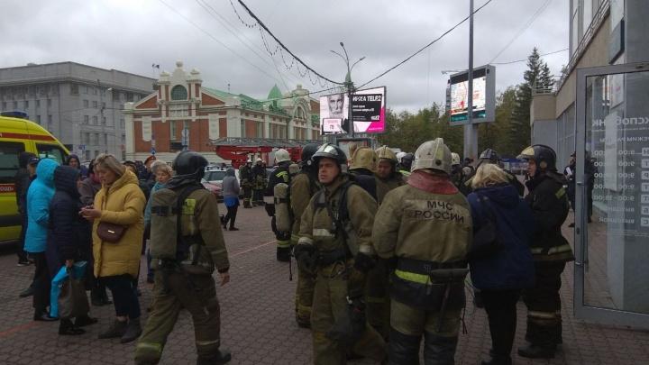 Из здания на площади Ленина эвакуировали людей