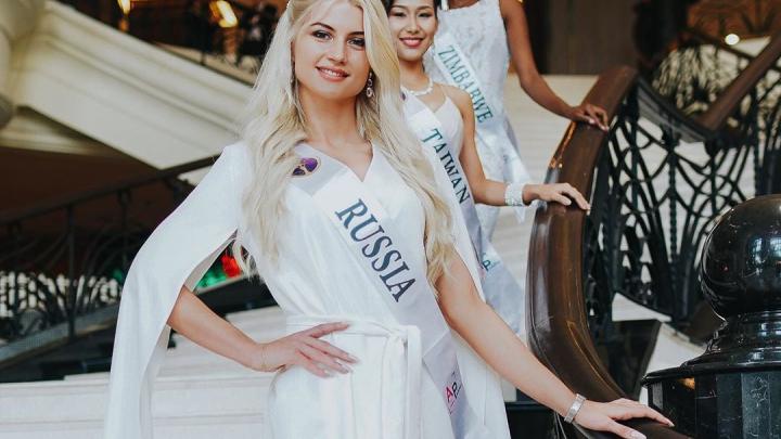 Красавица-блондинка из Лесосибирска вошла в топ-5 на мировом конкурсе красоты