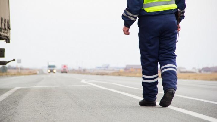 У автомобилиста на трассе в Челябинской области нашли три килограмма «голубого льда»