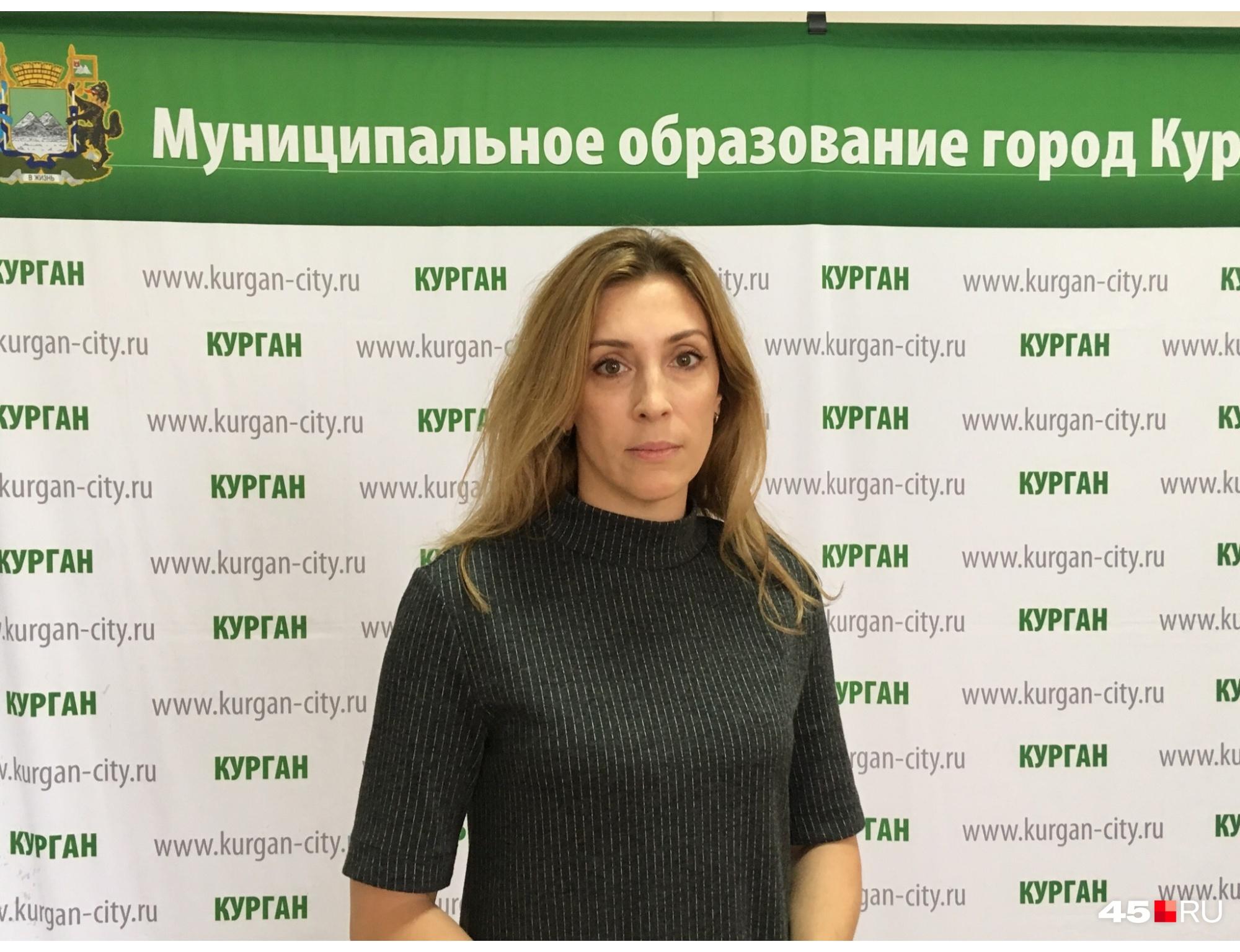 Татьяна Хильчук представляет четвертый избирательный округ