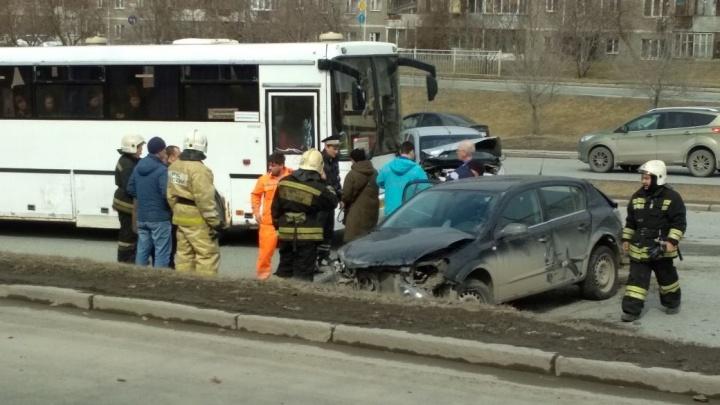 Массовое ДТП на Ново-Московском тракте попало на запись видеорегистратора