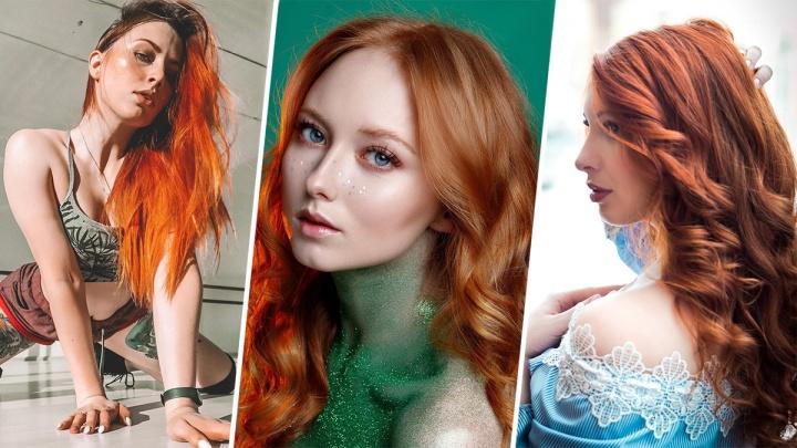 Жжет огонь внутри: 10 самых «рыжих» инстаграмов архангельских красавиц