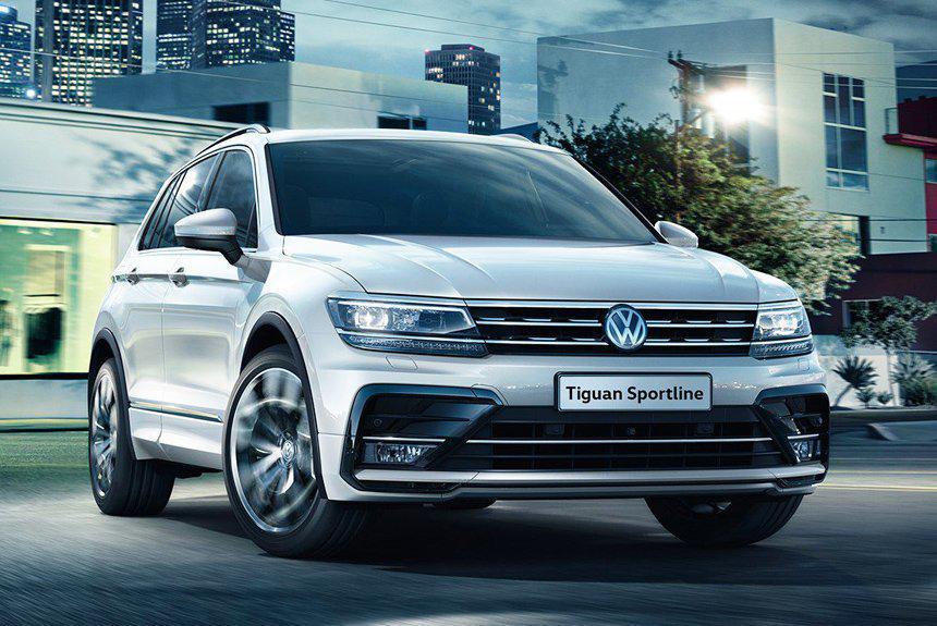 Volkswagen Tiguan Sportline — спортивный кузов со стильной оптикой