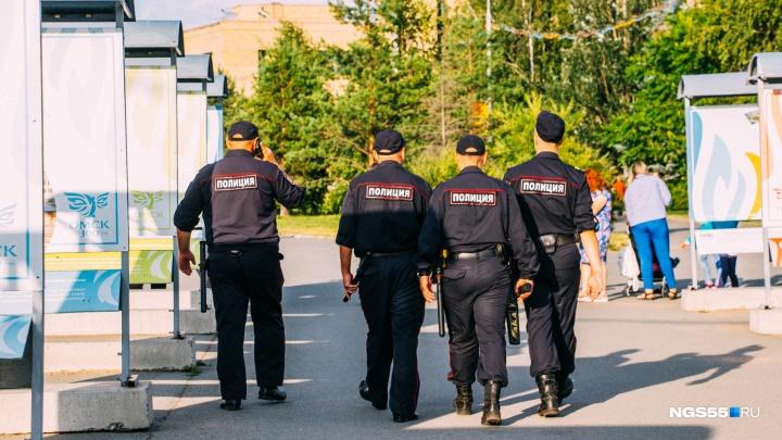 Омича, который укусил полицейского за голень, оштрафовали на 20 тысяч