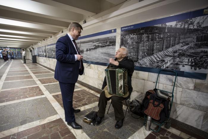 Мэр пришёл к Веретенникову после 11:00