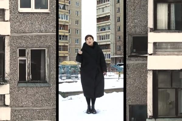 Свой фильм Катерина Гордеева снимала в Екатеринбурге