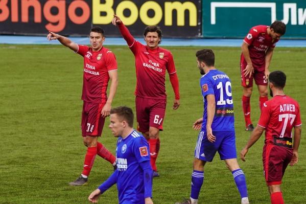 Матч «Уфа» — «Оренбург» проходил очень эмоционально