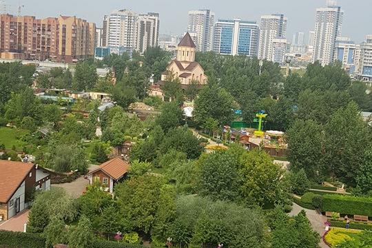 Новое колесо обозрения заработало в Красноярске на «Взлётке»