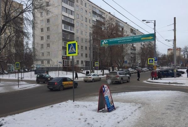 На опасном перекрестке в центре Перми установят светофор