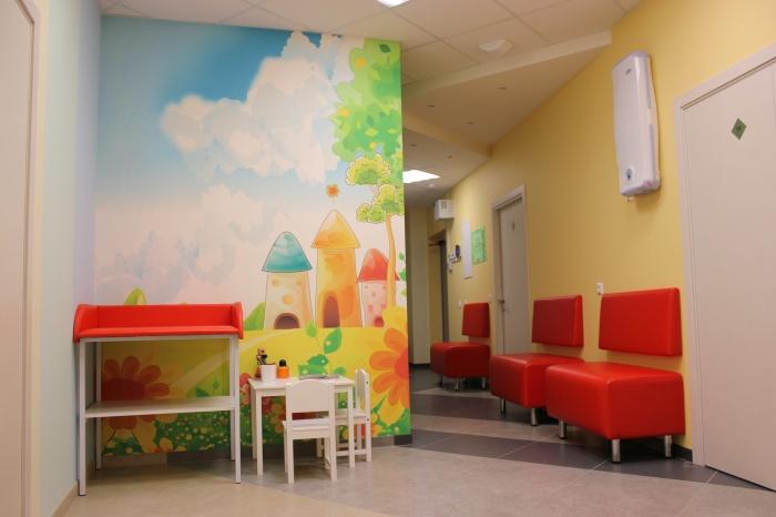 Интерьер новой клиники радует пациентов