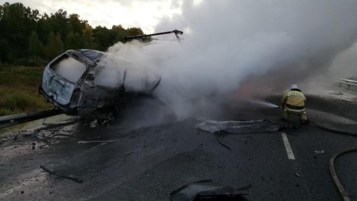 В Зауралье в ДТП погибли четыре человека