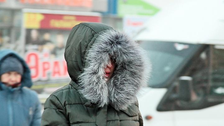 В Челябинске температура воздуха опустится до -30 градусов