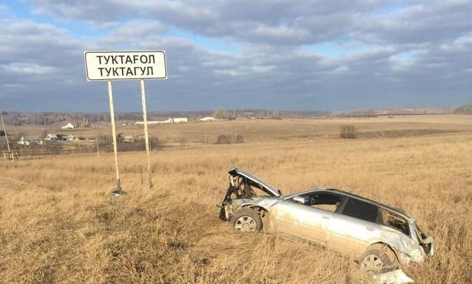 В Башкирии «Ауди А4» на повороте вылетела в кювет: погиб водитель