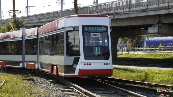 Я катаюсь на «гармошке»: тестируем самый длинный трамвай в Челябинске