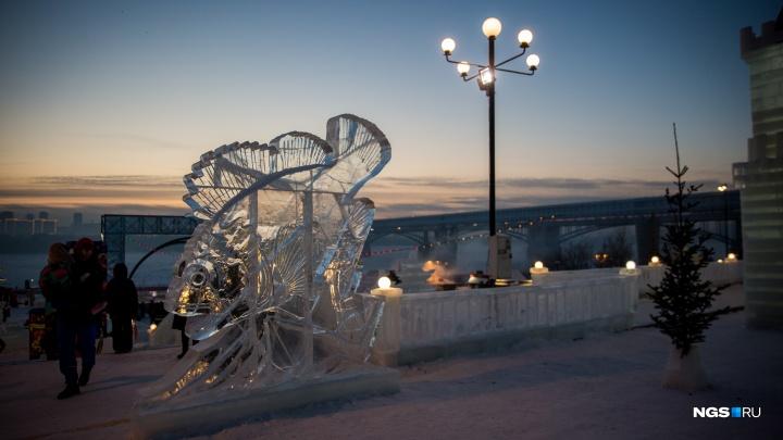Открытие ледового городка на Михайловской набережной перенесли на самый морозный день недели