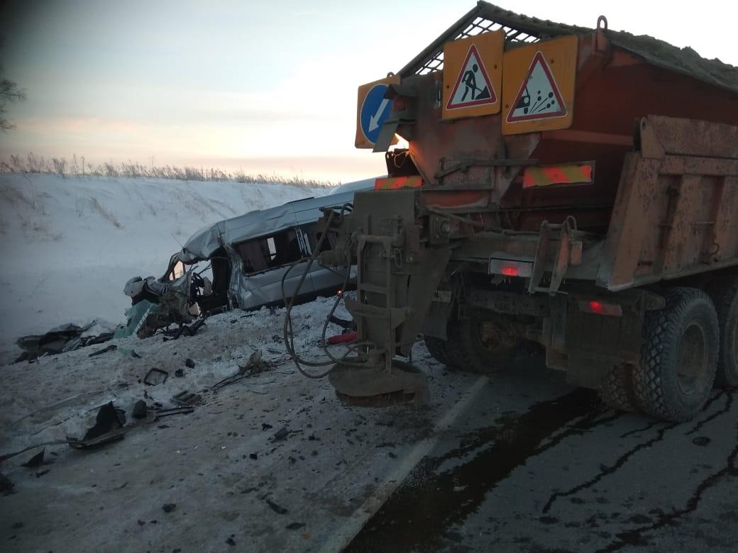 Смертельная авария случилась в Болотнинском районе на 140-м километре трассыР255 «Сибирь»