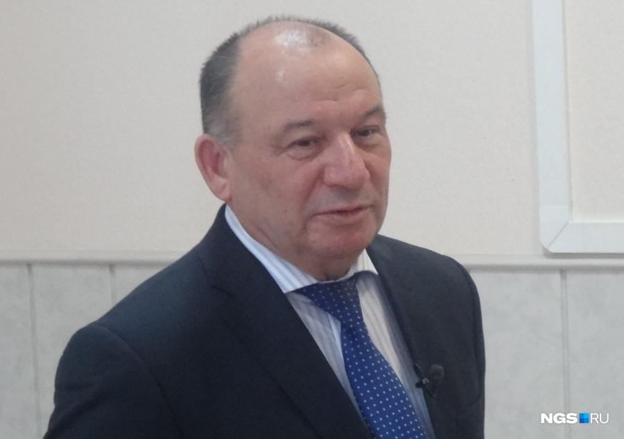 Омский министр возведения отправлен вотставку