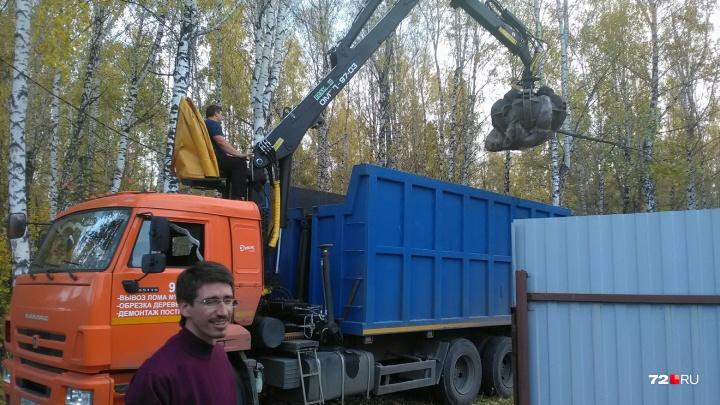 В логу реки Тюменки, где хотят построить студгородок, высадят оберег — шестиметровый дуб
