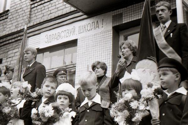 1980 год, школа № 166 Советского района Самары