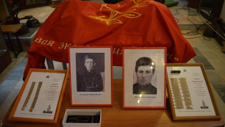Найдены родственники погибшего под Новгородом 75 лет назад красноармейца