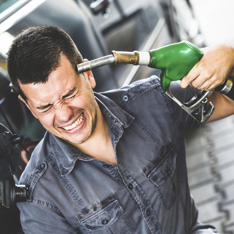 Бензин перевалил за 40