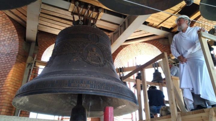 В Волгограде впервые зазвонят все колокола Александро-Невского собора