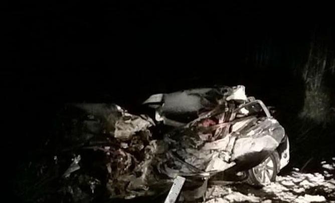 На «трассе смерти» в лобовом столкновении с КАМАЗом погибли двое мужчин