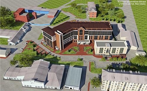 Около Дорожной больницы на Владимировском спуске построят учебный центр за 162 миллиона