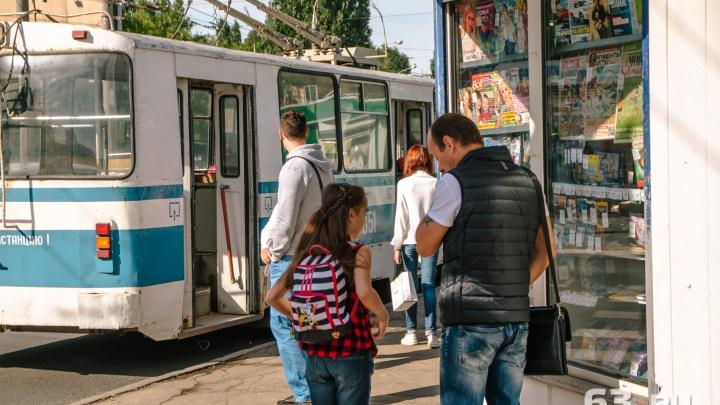 По Московскому шоссе временно не будут ездить троллейбусы