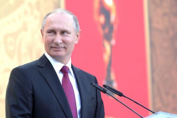 Владимира Путина ждут в Новосибирске в феврале