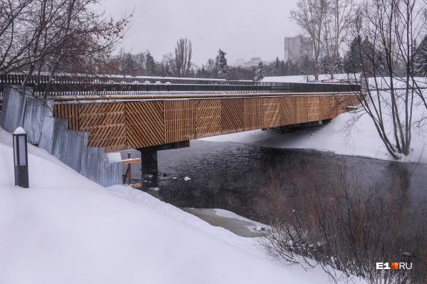 Мост сделан, но ходить по нему пока что нельзя