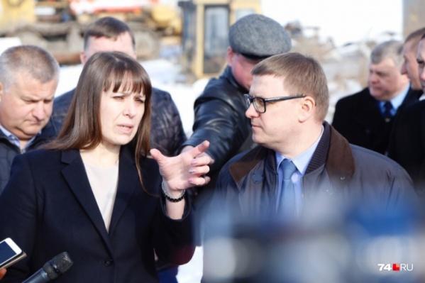 Новый глава региона не стал осматривать Челябинск и отправился для начала на Коркинский разрез, а затем в Полетаево