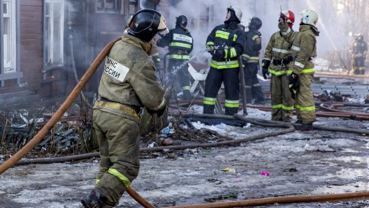В страшном пожаре в Ростове погибли пять детей