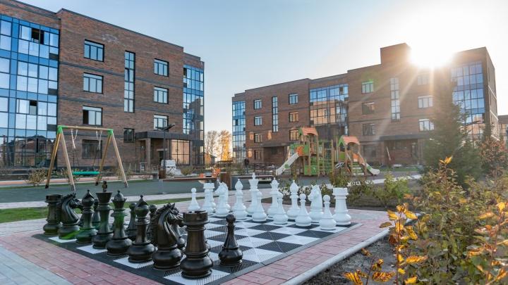 Он такой один: новый жилой комплекс в Академгородке поражает заботой о жителях