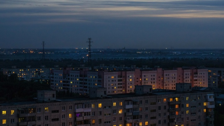 Центр Омска на час остался без электричества