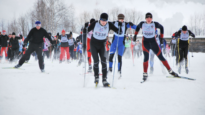 Из-за «Лыжни России» 8 февраля в Архангельске перекроют несколько улиц