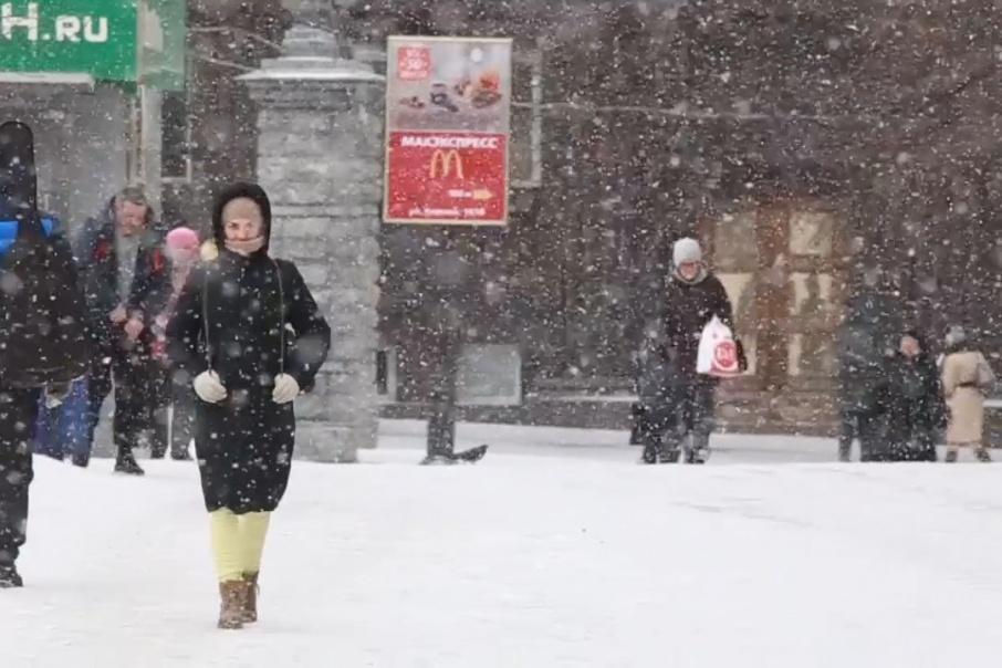 Снежная погода прогнозируется в Челябинске на ближайшие два дня