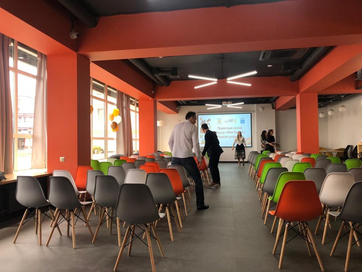 Главный зал центра можно использовать для проведения лекций и мастер-классов