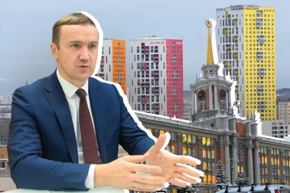 Геннадий Черных судится с мэрией за право не согласовывать архитектурно-планировочные решения новых жилых высоток