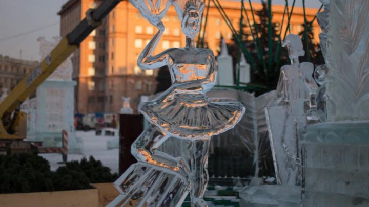 Челябинская мэрия выделила 8,2 миллиона на главный ледовый городок. Смотрим, каким он будет