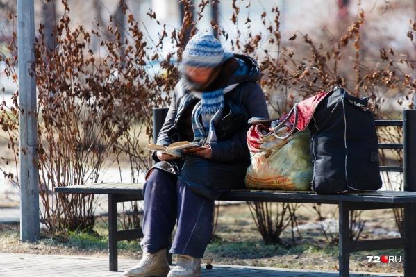 Семья осталась на улице в преддверии зимы