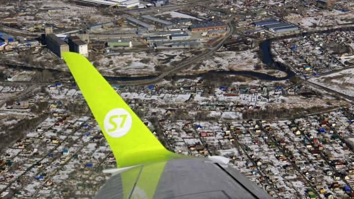 Сильный ветер помешал новосибирскому самолёту приземлиться на Камчатке
