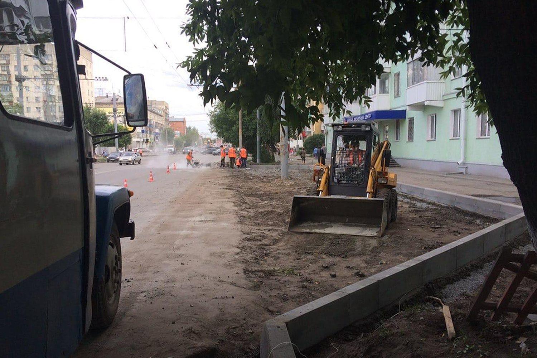 На улице Пролетарской ровной обещают сделать не только проезжую часть, но и тротуары