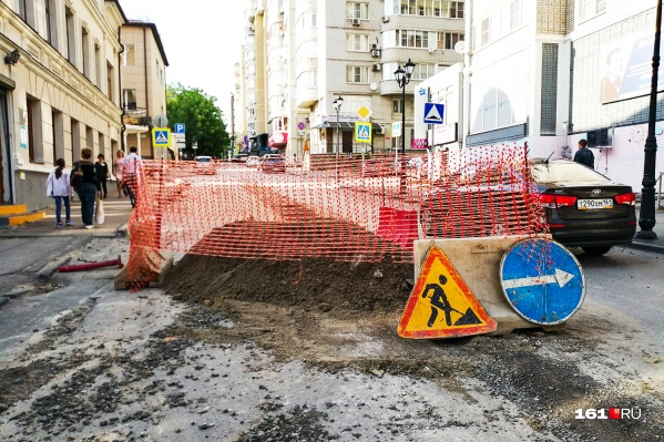 В переулке Семашко будут прокладывать газопровод