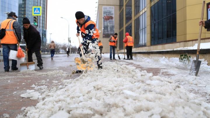 Прокурор Екатеринбурга направила в суд 78 исков по неубранному снегу