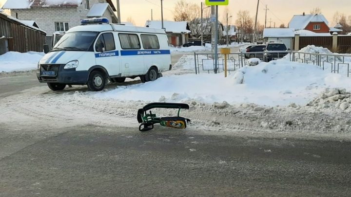 Мальчик, которого перед Новым годом на улице Лянгасова сбила иномарка, скончался в больнице
